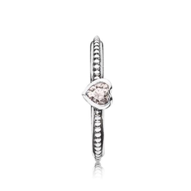 Pandora Ring - One Love Pink Sapphire