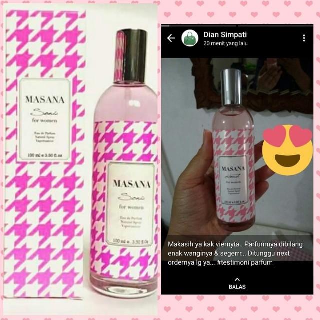 Parfum Masana Original