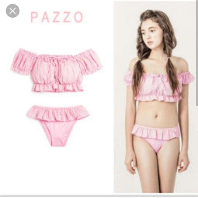 Pazzo 荷葉邊泳衣 #新春八折