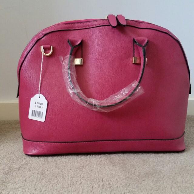 Pink Korean style Bag