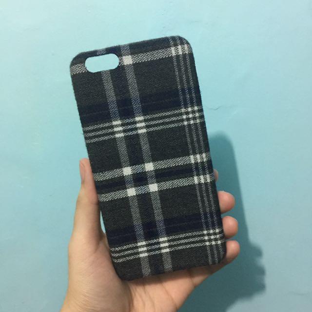 Plaid Felt iPhone 6 Plus Case