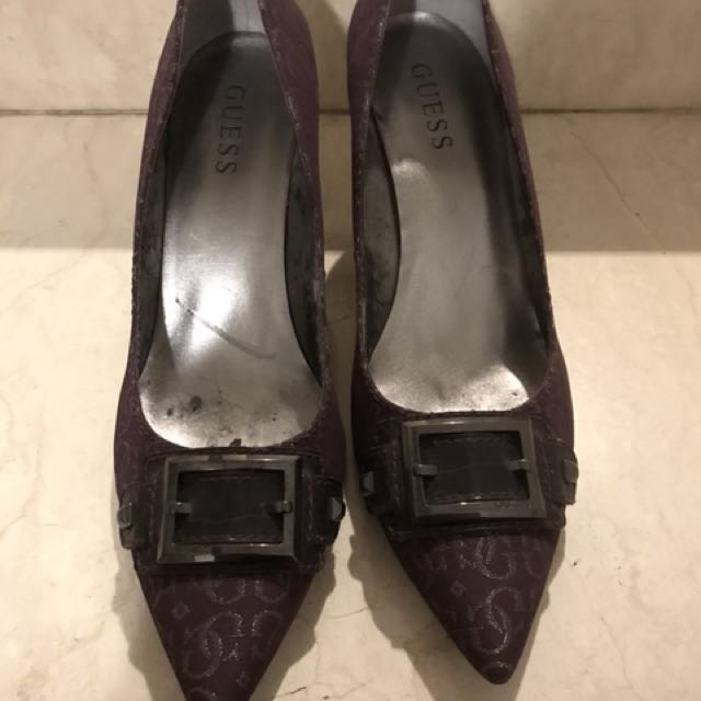 PRELOVED: Purple Guess Shoes