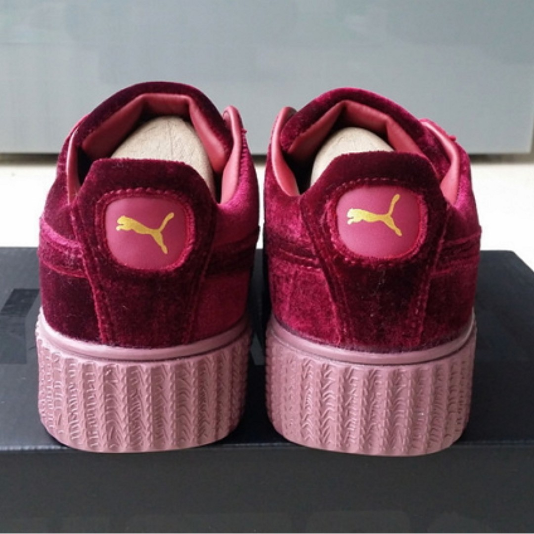 newest 052d8 00e85 discount code for puma by rihanna creeper red b4af7 92560