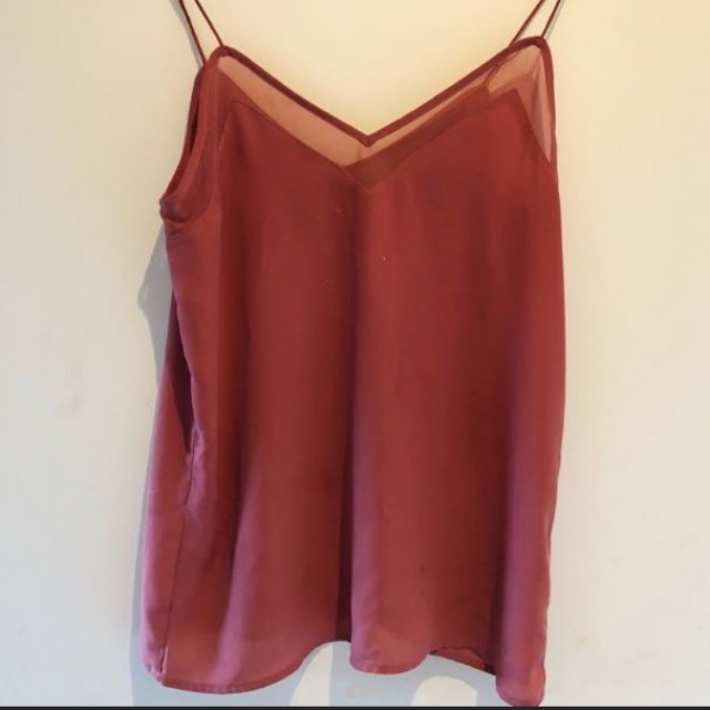 Red Glassons Top