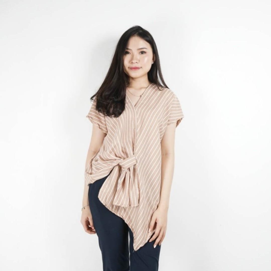 Ritta stripe blouse