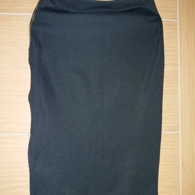Rok Midi Pencil Skirt Preloved
