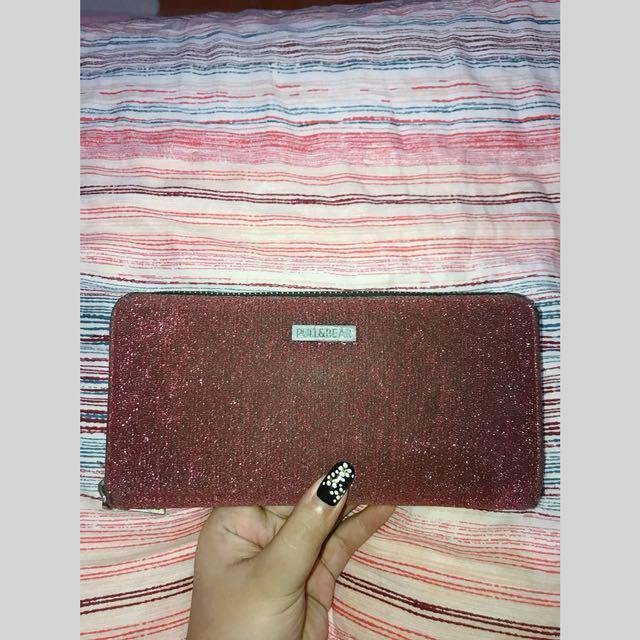 Rosegold Wallet Pull & Bear