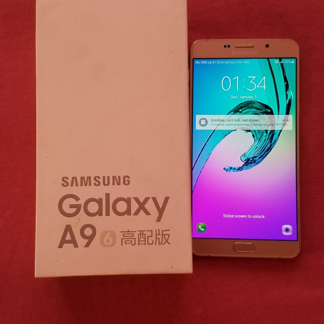 Secondhand Samsung A9 Pro