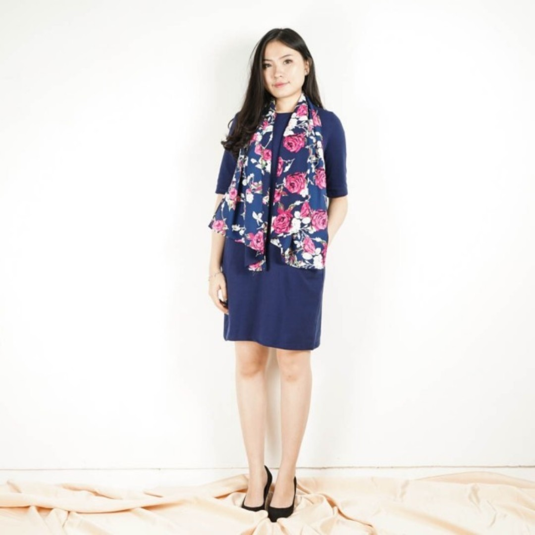 shawl comfy dress