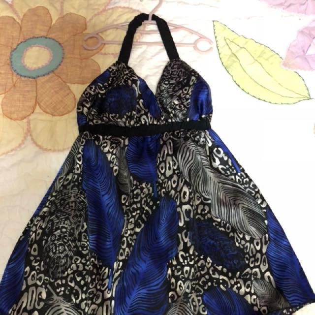 Silk Backless(semi-dress)
