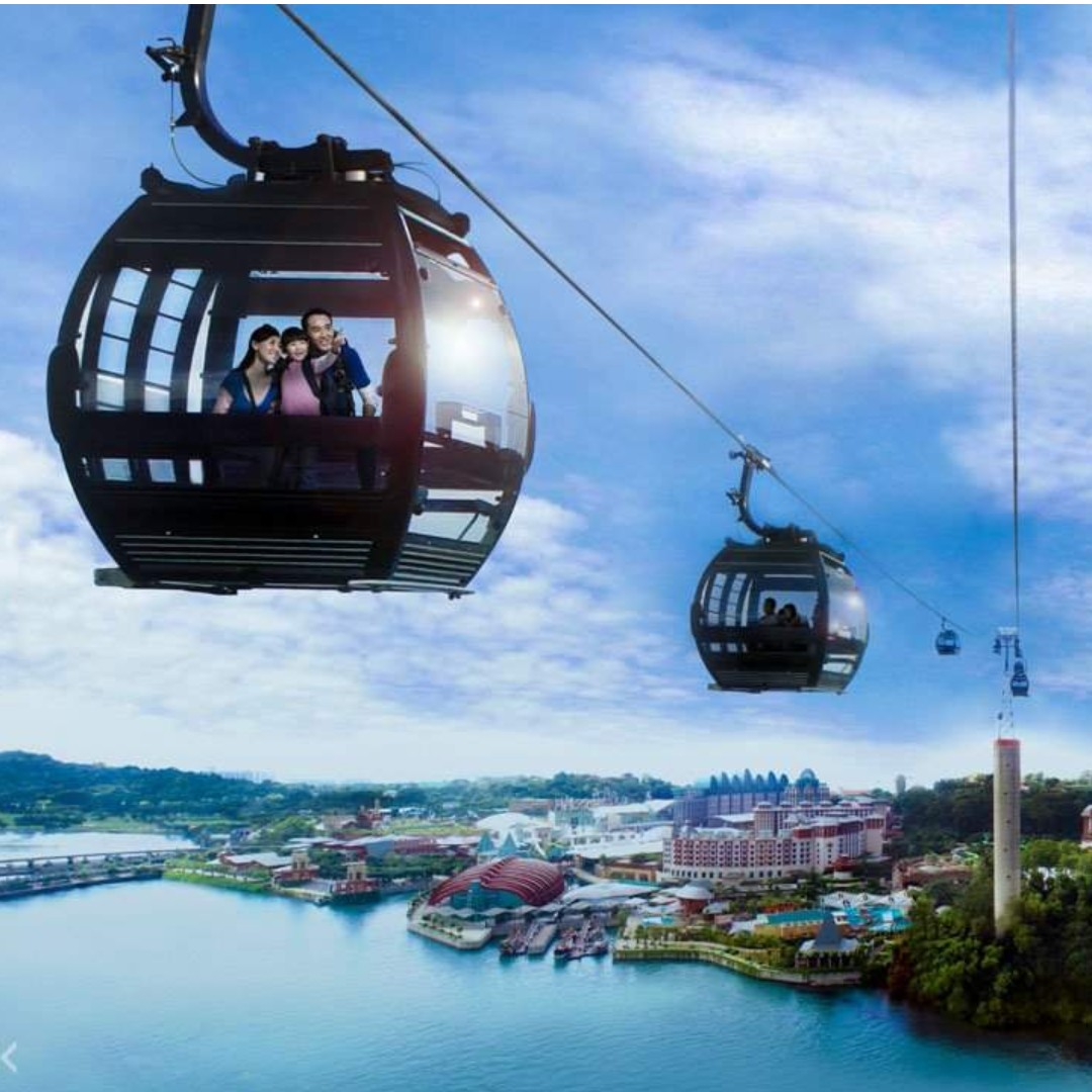 Singapore Cable Car Admission Ticket (Round Trip)