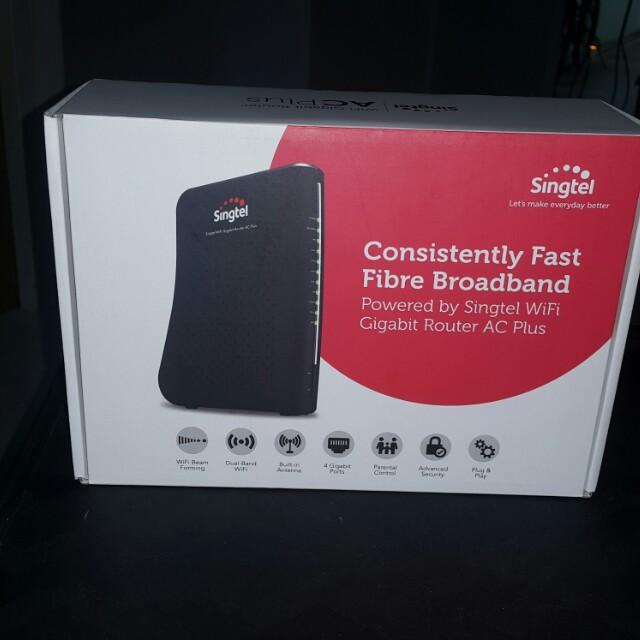 Singtel Wifi Gigabit Router Ac Plus Specs