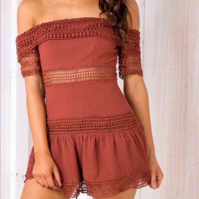 STELLY Playsuit - Size 6