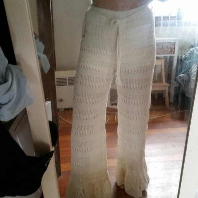 Summer hippie flair pants