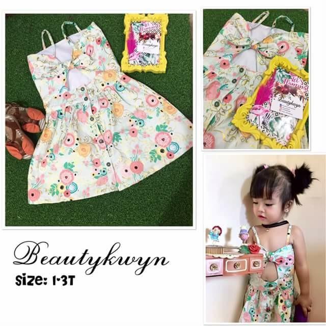 Sweetheart dress bloom for kids
