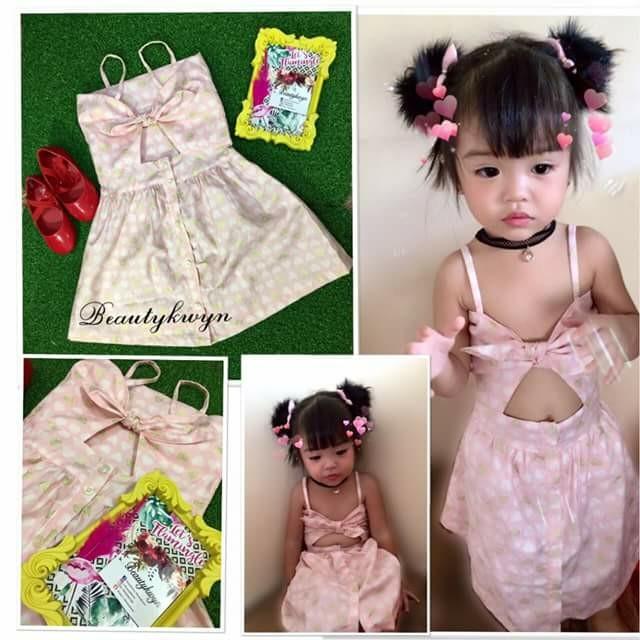 Sweetheart dress for kids