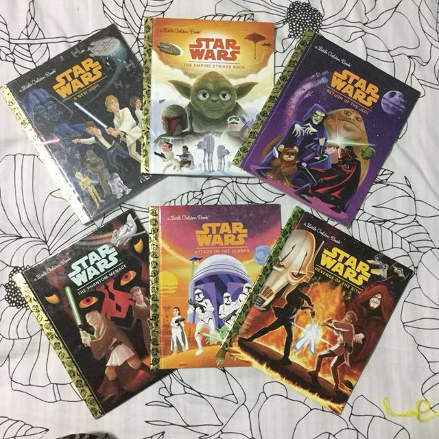 Take All: Star Wars Ep 1-6 by Little Golden Books