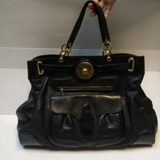 Tas Balenciaga Large Black Handbag