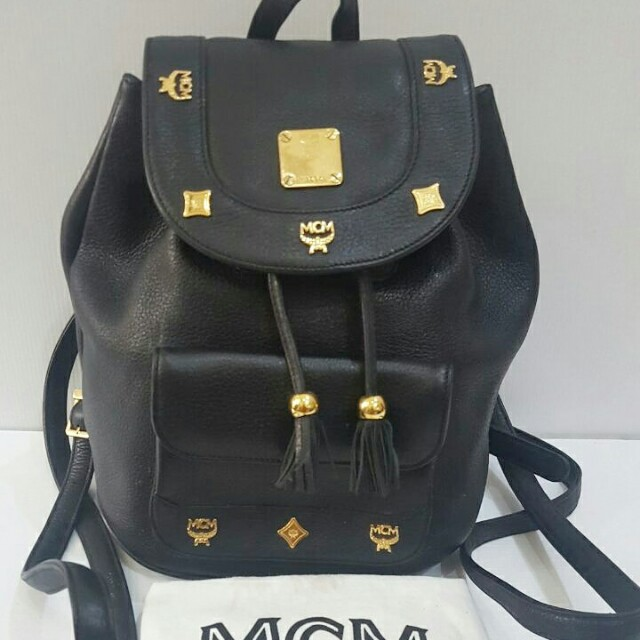 Tas MCM Backpack authentic