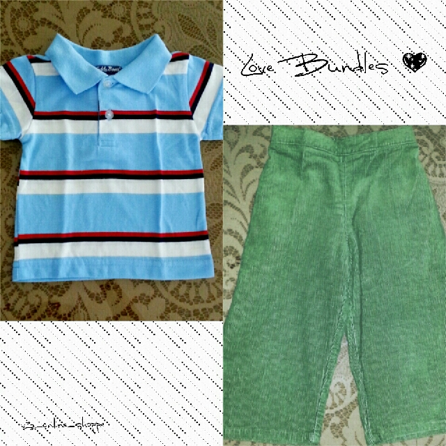 Teddy Boom Polo Shirt & WWW Sportz Pull-on Pants