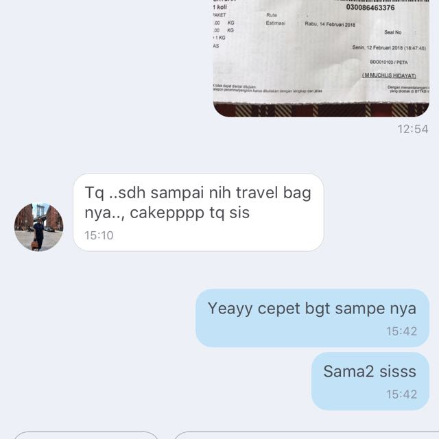 Testi VIP Gift Travel Bag