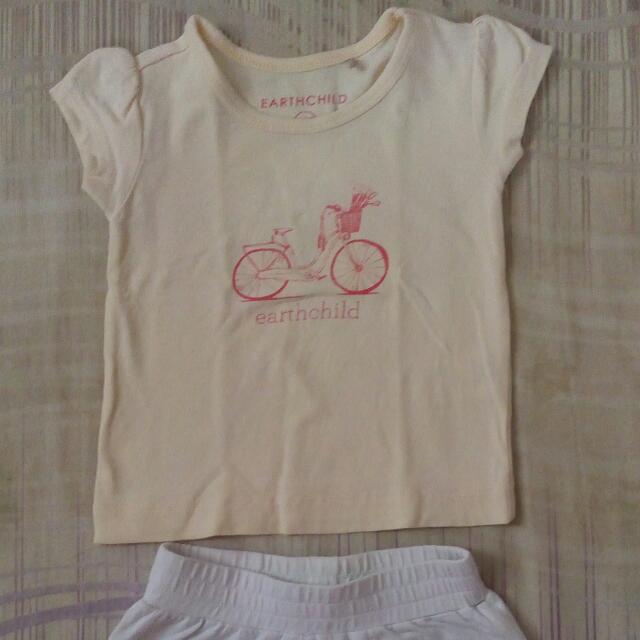 Top And Shorts Baby Terno