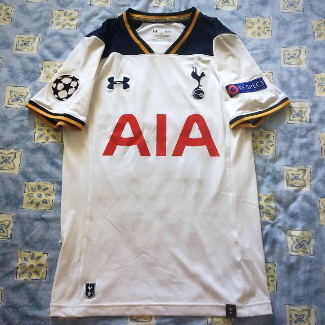 sale retailer 56836 a7fa7 Tottenham Hotspur Home Champions League Kit 2016/17 ( Dele ...