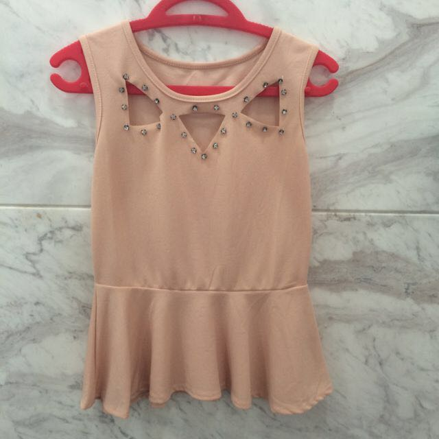 Triangle Peplum