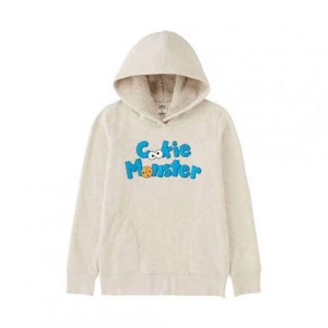 UNIQLO cookie monster hoodie