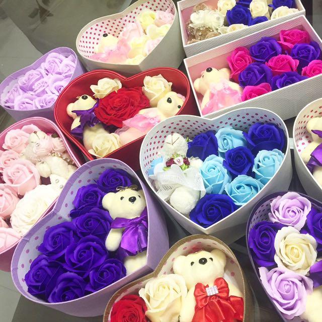 Valentines Special flower box