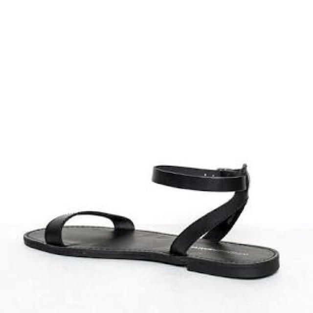 Windsor Smith Birch Black Sandals