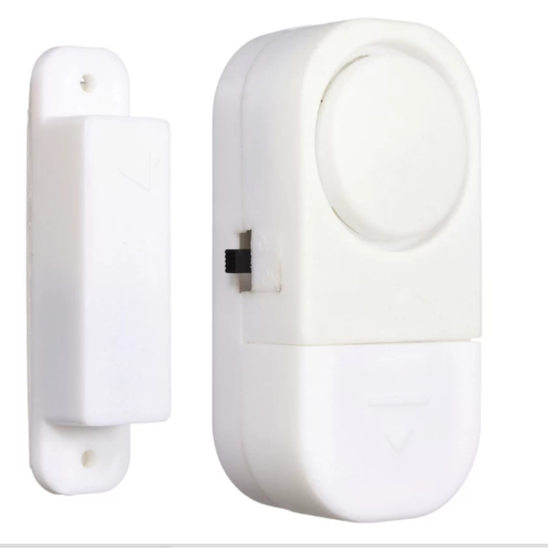 Wireless Home Window Doors Entry Security Alarm System Magnetic Sensor