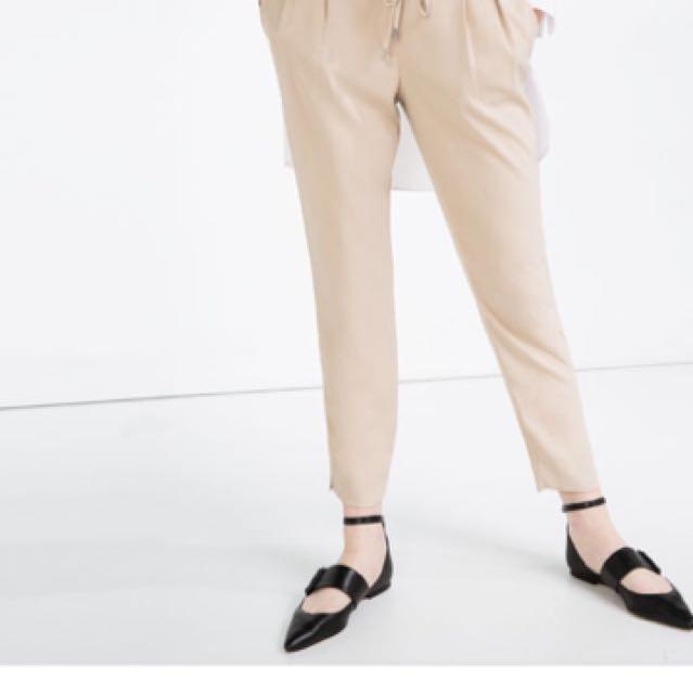 ZARA Beige Trousers