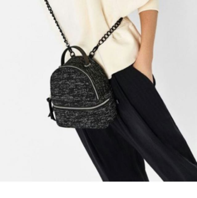 ZARA Glitty Bag