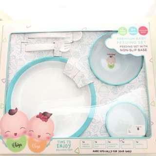 LITTLE BABY Premium Baby Feeding Set with non-slip base