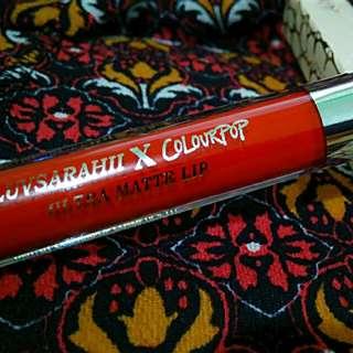 Ultra Matte liquid lipstick-ARRIBA(authentic)