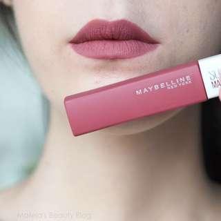 Maybelline Matte Ink Liquid Lipstick - Lover