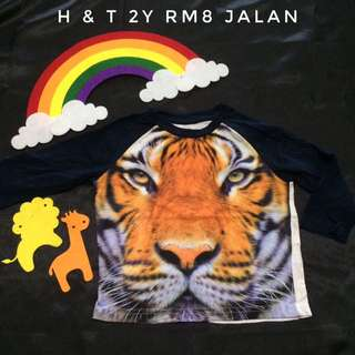 H & T Tiger Tee