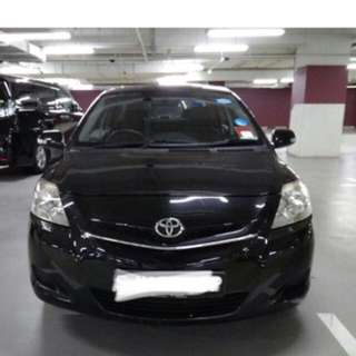Toyota Vios for Uber Grab car rental