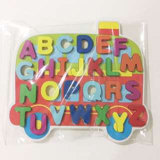 Baby Alphabets Wooden Blocks Toy