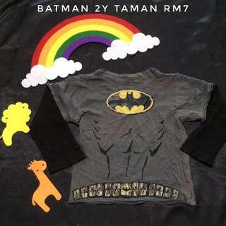 Batman Tee (Tshirt Kanak Kanak)