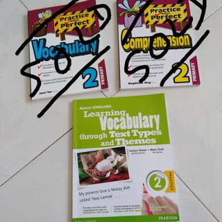 Primary 2 assessment books (Brand new at 30% off)