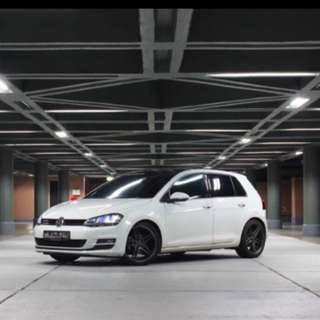 Volkswagen Golf Sport 1.4A For Rent Chinese New Year 2018