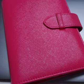 NEW A6 Ring Planner in Rose Piink