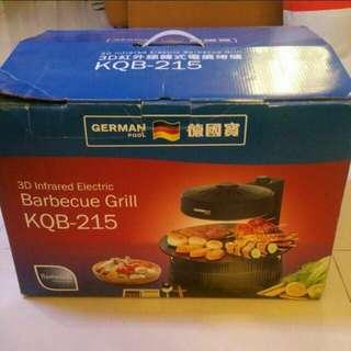 德國寶  3D 紅外線韓式電燒烤爐  Model: KQB-215  95% New