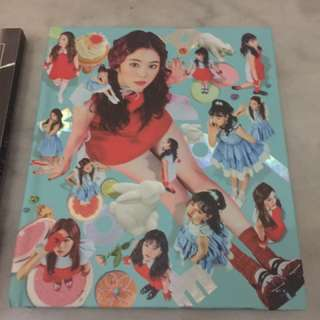 Red velvet irene cover album only