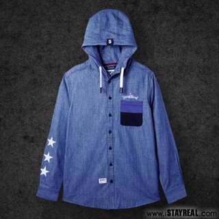 Stayreal自由之星連帽襯衫