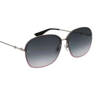 **99 % New**  <<Gucci GG0228S 004 Sunglasses>>  型格高貴紫色