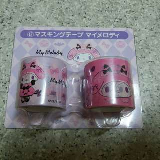 【日本限定】Melody Masking Tape (送Melody禮物裝飾品)