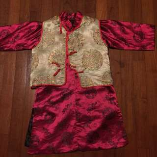 Chinese traditional long top